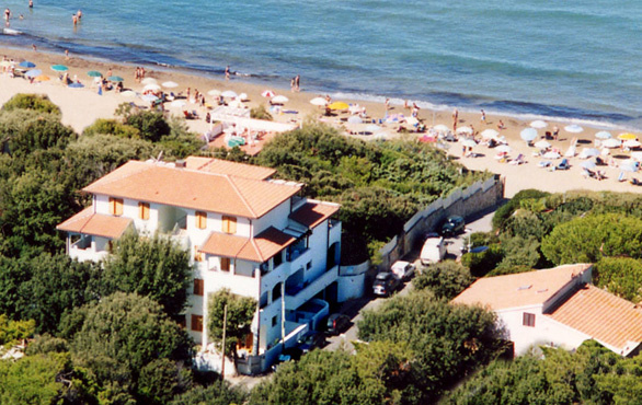 """Residence Villa Clara"" in San Vincenzo"