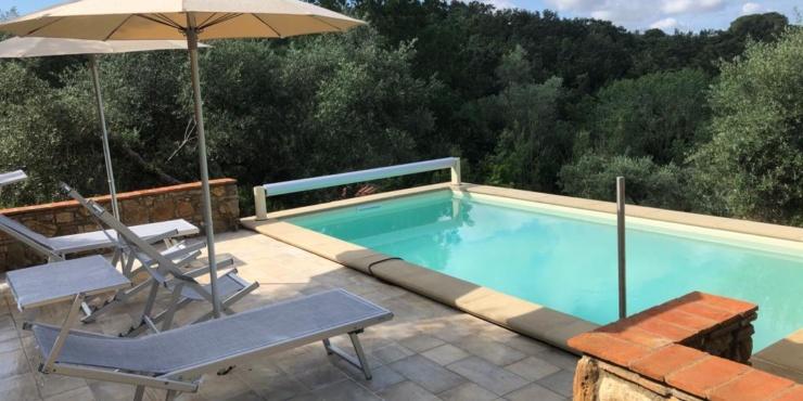 """Podere Mulino Vecchio"" ab März 2020 mit Pool"